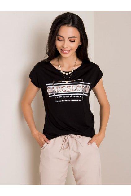 Dámske tričko s aplikáciou kód D12860O02263C