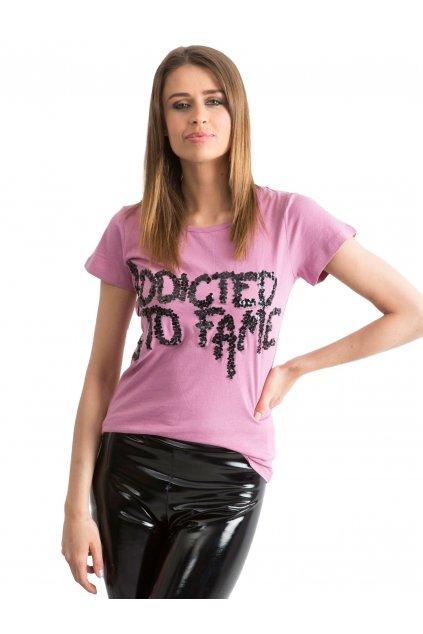 Dámske tričko s aplikáciou kód I37004