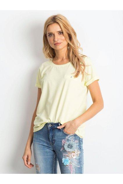 Dámske tričko jednofarebné kód RV-TS-4838.13P