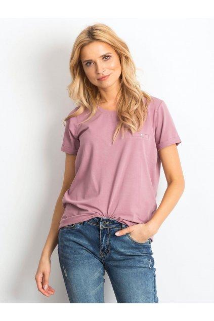 Dámske tričko jednofarebné kód RV-TS-4838.54P