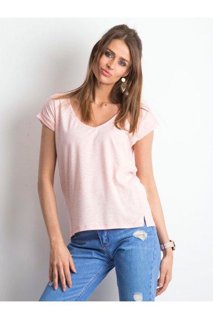 Dámske tričko jednofarebné kód RV-TS-4839.34P