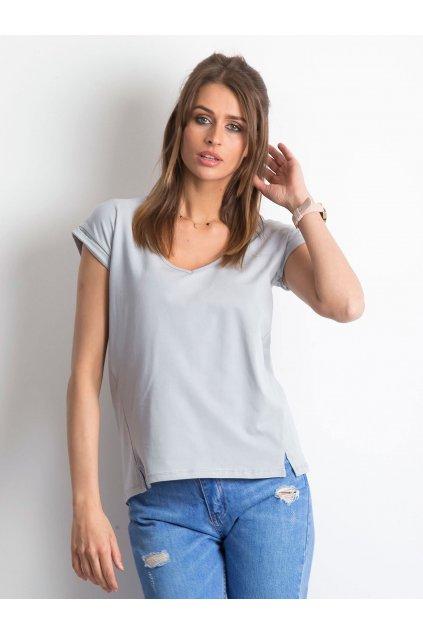 Dámske tričko jednofarebné kód RV-TS-4839.36P