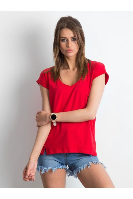 Dámske tričko jednofarebné kód RV-TS-4839.42P