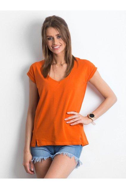 Dámske tričko jednofarebné kód RV-TS-4839.55P