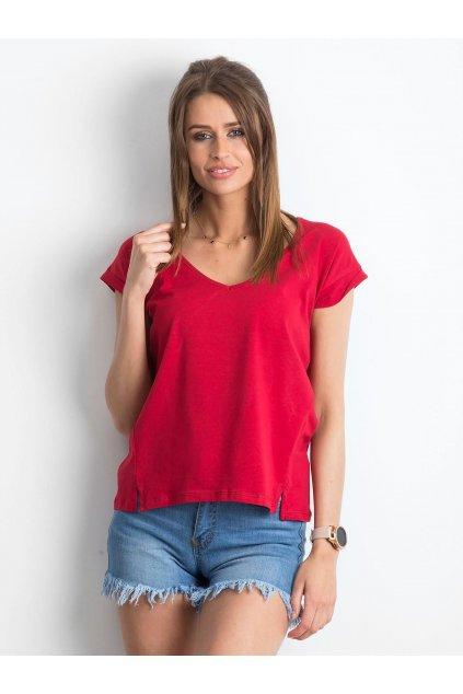 Dámske tričko jednofarebné kód RV-TS-4839.58P