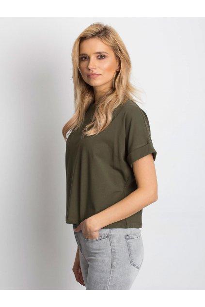 Dámske tričko jednofarebné kód RV-TS-4841.85P
