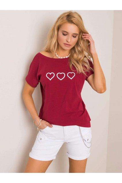 Dámske tričko s podtlačou kód RV-TS-5650.07P