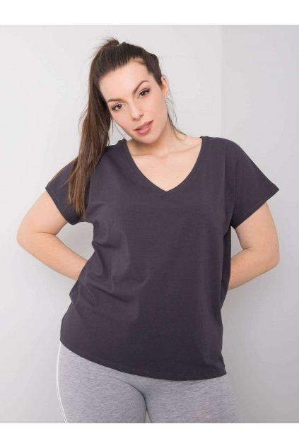 Dámske tričko plus size kód RV-TS-6305.22P