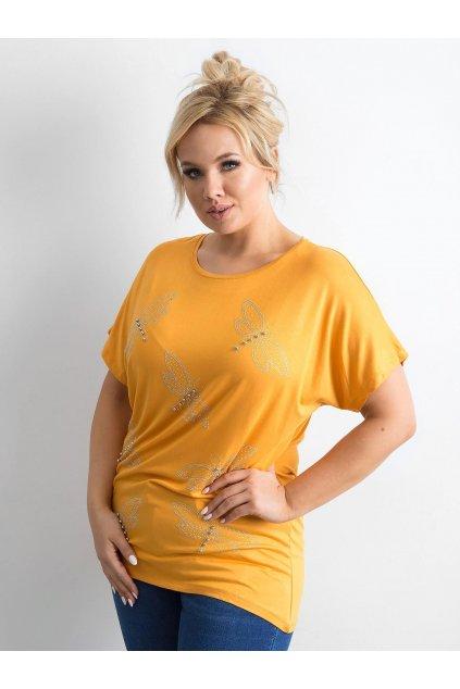 Dámske tričko plus size kód TO-TS-010301.48P