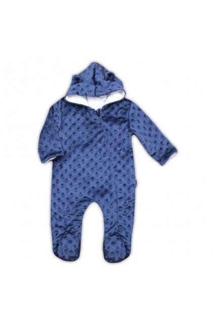 Dojčenský overal z Minky Nicol Bubbles modrý NJSK 779717
