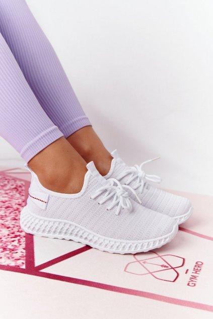 Dámske tenisky farba biela kód obuvi NB390 WHITE