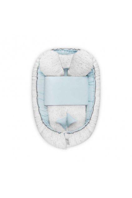 Luxusné hniezdočko s perinkou pre bábätko Belisima Enzo