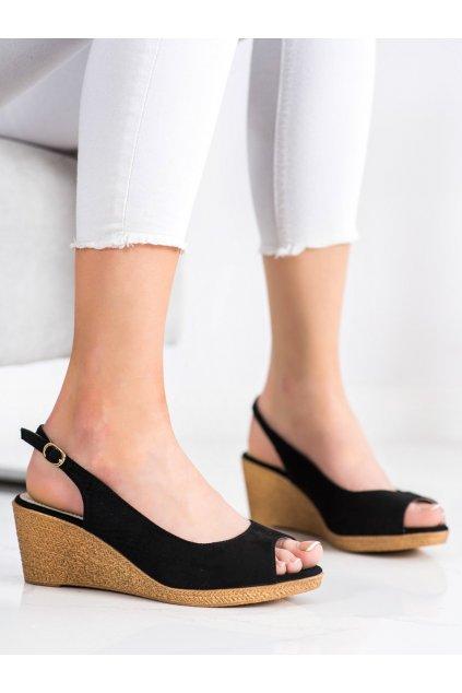 Čierne sandále Goodin kod GD-FL653B