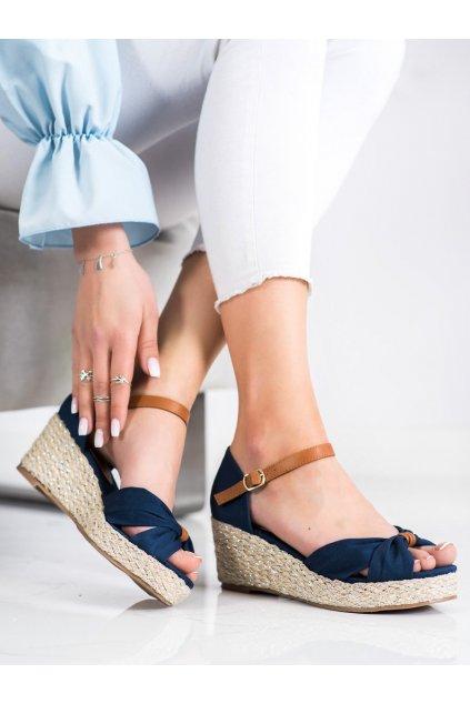 Modré sandále Goodin kod GD-NF-03D.BL