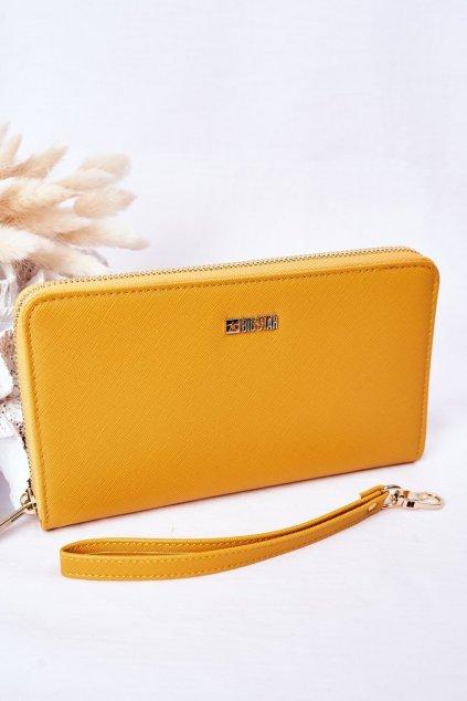 Peňaženka farba žltá kód HH674001 YELLOW