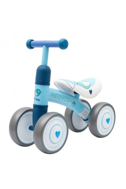 Detské odrážadlo Baby Mix Baby Bike modré