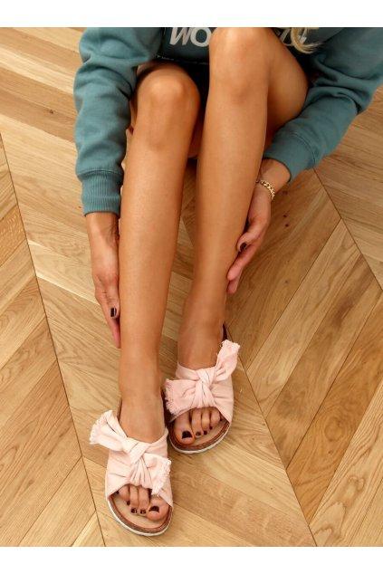 Damske šľapky ružové WS11