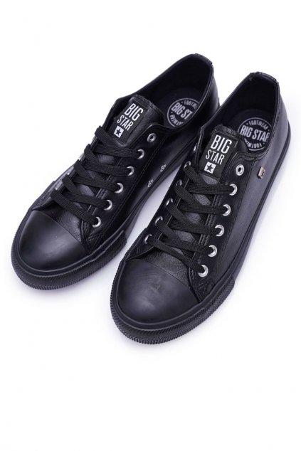Čierna obuv NJSK V174345 BLK