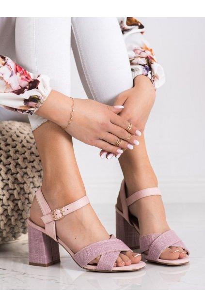 Ružové sandále Vinceza kod YQE21-17125P