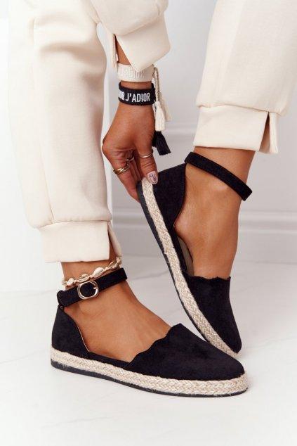 Dámske tenisky farba čierna kód obuvi RS-12 BLACK