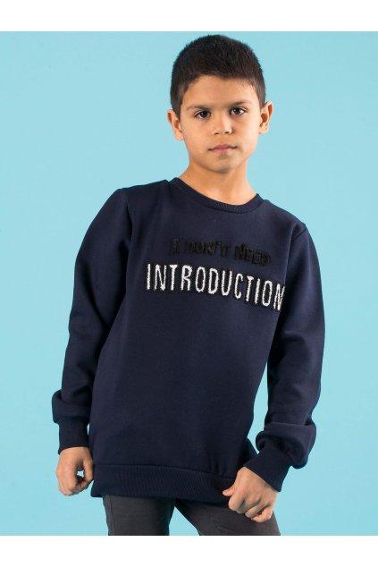 Detská chlapčenská mikina kód TY-BL-13309.43
