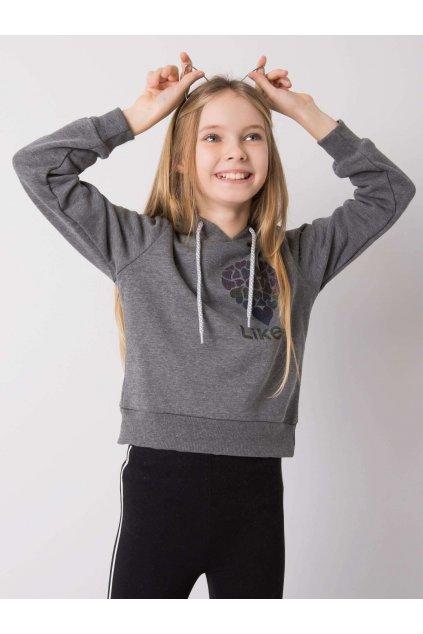 Detská dievčenská mikina kód TY-BL-16386.48
