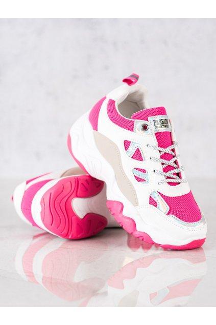Ružové tenisky NJSK NB323FLU.F