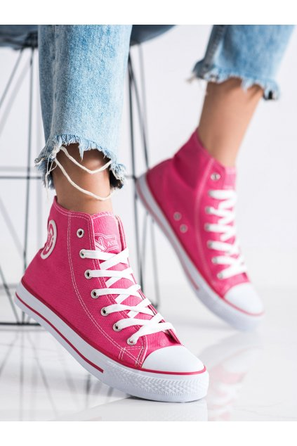 Ružové dámske tenisky New age kod 082DK.P