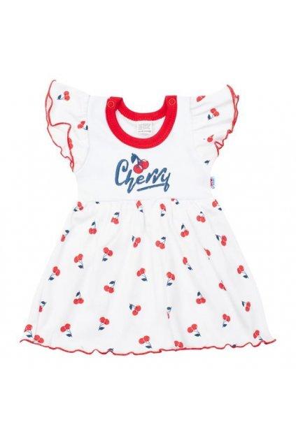 Dojčenské bavlnené šatôčky New Baby Cherry
