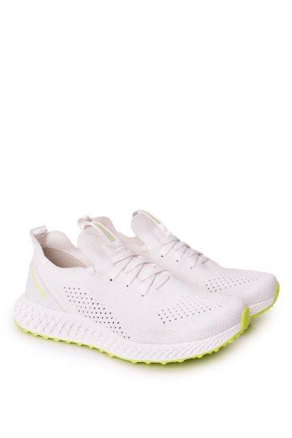 Biela obuv kód topánok FF174235 WHITE/LIME