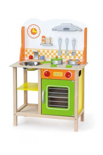 Detská drevená kuchynka Fantastic s príslušenstvom Viga