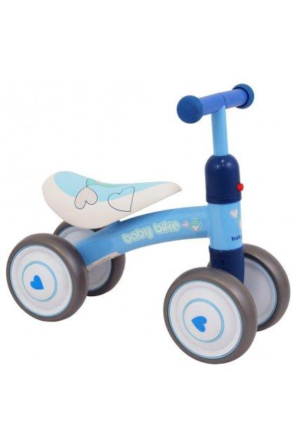 Detské odrážadlo Baby Mix Baby Bike modrý NJSK 35397