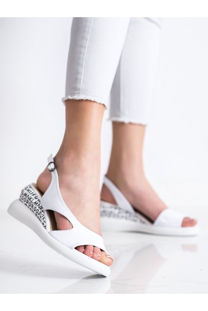 Biele sandále Filippo kod DS2315/21W
