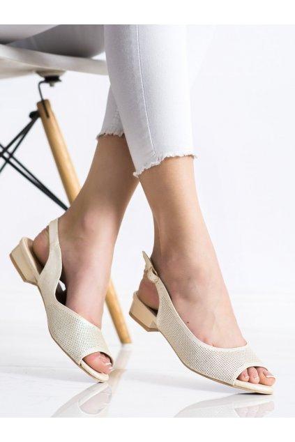 Žlté sandále Sabatina kod P142D001GO
