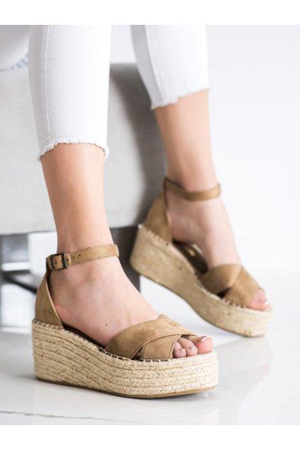 Hnedé sandále Corina kod C7246AR