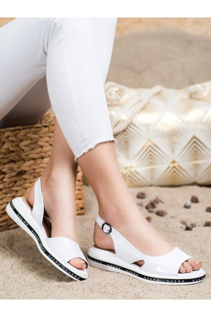 Biele sandále Filippo kod DS2322/21W