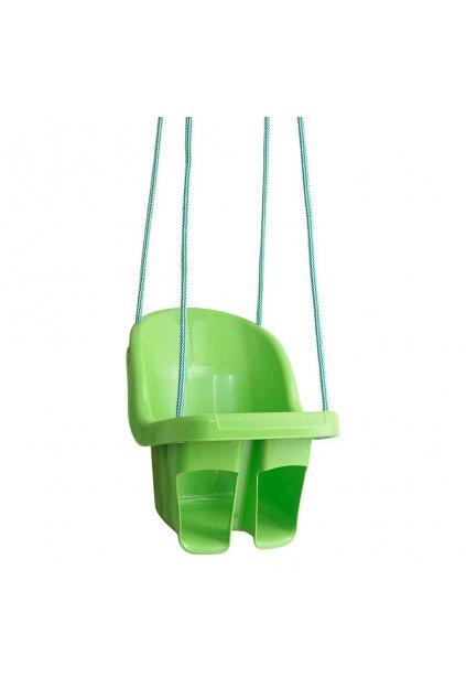 Detská závesná hojdačka Tega zelená