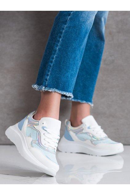 Modré tenisky Sweet shoes kod L8070BL