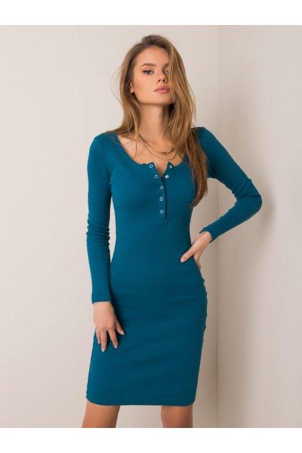 Zelené šaty NJSK RV-SK-5765.44P