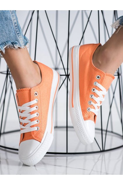 Oranžové tenisky Shelovet kod LY-20OR