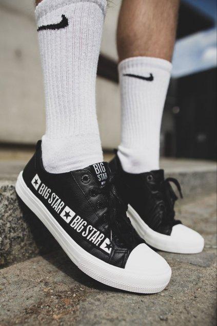 Čierna obuv NJSK EE174069 BLK