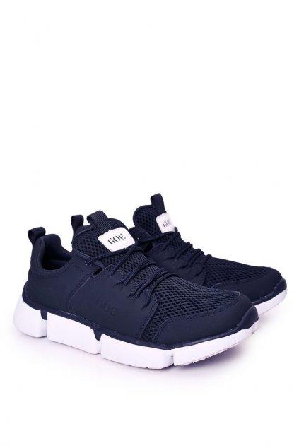 Modrá obuv NJSK HH1N4031 NAVY