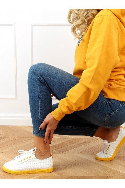 Dámske tenisky žlté LA44
