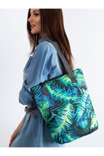 Textílna kabelka zelená kód CE-TR-032.82P/VivaCALIPSO