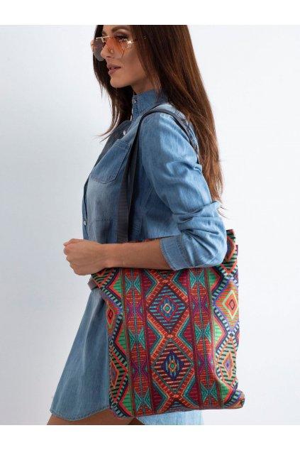 Textílna kabelka viacfarebná kód CE-TR-018.70P/SunnyJACALI