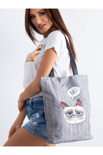 Textílna kabelka sivá kód CE-TR-020.73P/SunnyNO