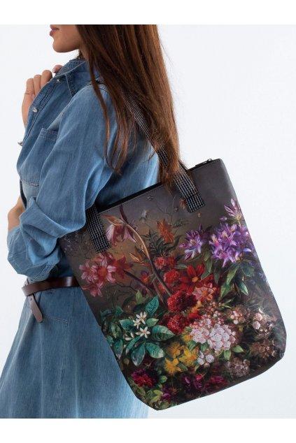 Textílna kabelka khaki kód CE-TR-027.89P/VivaNewBOUQUET