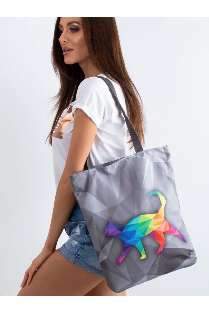 Textílna kabelka sivá kód CE-TR-044.93P/SunnyBOLD