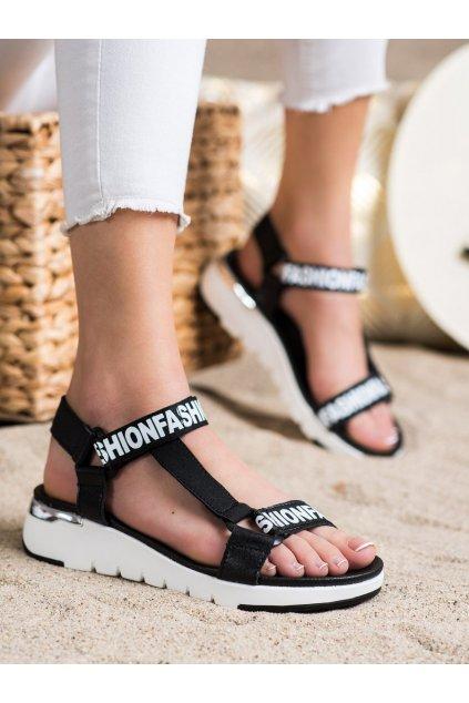 Čierne dámske sandále Filippo kod DS2169/21B