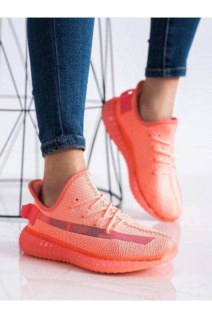 Oranžové tenisky Shelovet kod BL219WAT